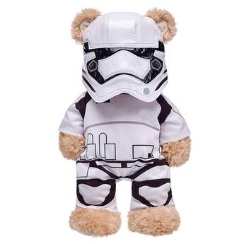 Any furry friend can become a soldier of the First Order with this two piece Stormtrooper costume! This white and black costume features the Stormtrooper body suit and matching mask. Dress your furry friend in this Star Wars&#153 costume and protect the Empire!&#169 & &#153 Lucasfilm Ltd.