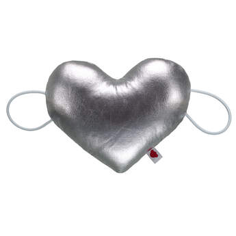 Online Exclusive Silver Heart Wristie - Build-A-Bear Workshop®
