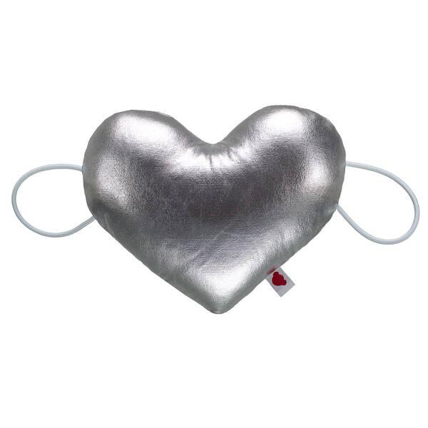 Online Exclusive Silver Heart Wristie - Build-A-Bear Workshop®