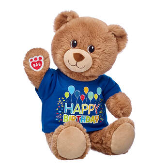 Lil' Cub Brownie Birthday Bear Gift Set, , hi-res