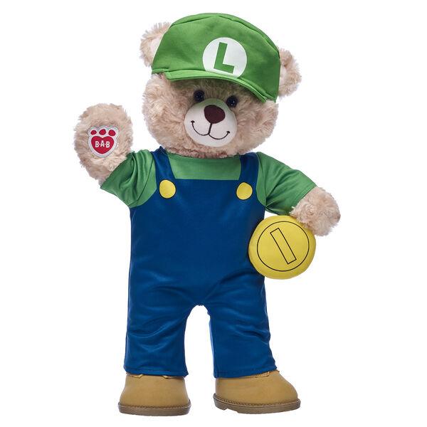Happy Hugs Teddy Luigi Gift Set, , hi-res