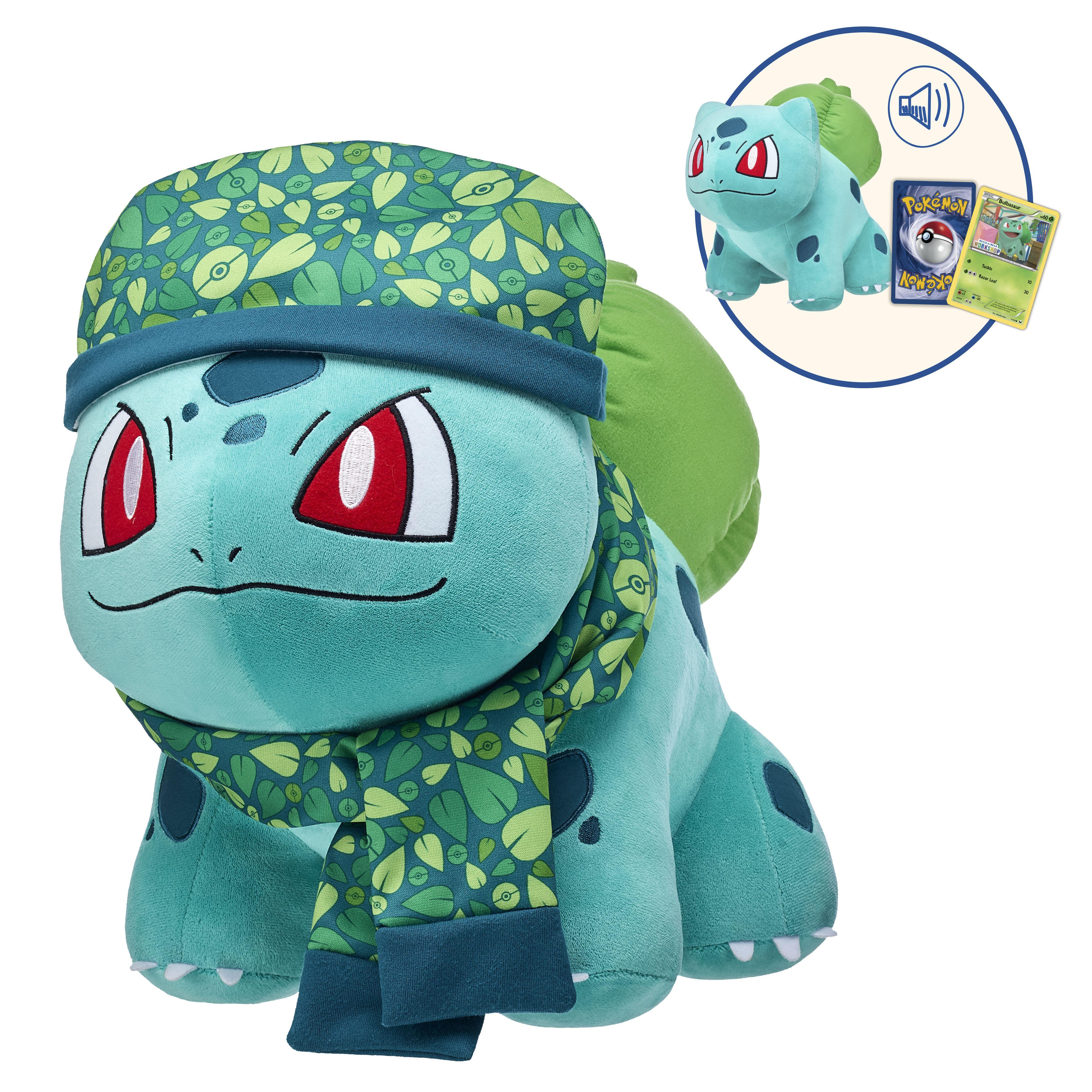 Online Exclusive Bulbasaur Bundle ...  sc 1 st  Build-A-Bear Workshop & Plush Pokémon Clothing u0026 More | Build-A-Bear®