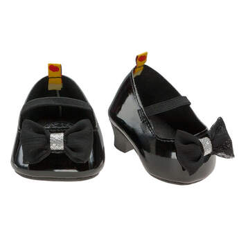 Black Patent Bow Heels - Build-A-Bear Workshop®