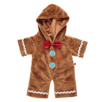 Satisfy your furry friend's sweet tooth with this adorable Gingerbread Costume! Your furry friend will look sweet as can be in this cosy cookie costume.