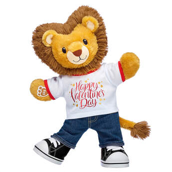 Online Exclusive Lovable Lion Valentine's Day Gift Set, , hi-res