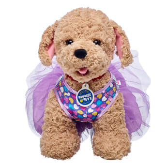 Purple Hearts Dress - Build-A-Bear Workshop®