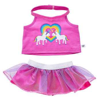 Unicorn Friends Skirt Set 2 pc. - Build-A-Bear Workshop®