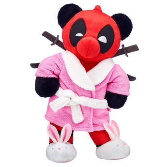Online Exclusive Build-A-Bear as Deadpool Robe Gift Set, , hi-res