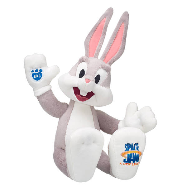 Online Exclusive Space Jam: A New Legacy Bugs Bunny - Build-A-Bear Workshop®