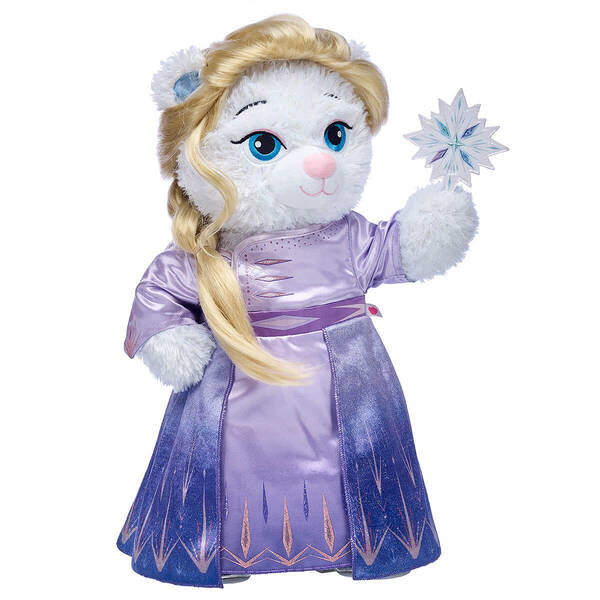 Disney Frozen 2 Elsa Inspired Bear Arendelle Gift Set, , hi-res
