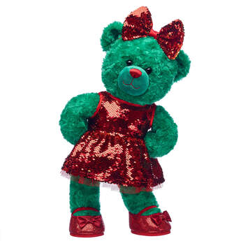 Online Exclusive Evergreen Teddy Christmas Gift Set, , hi-res