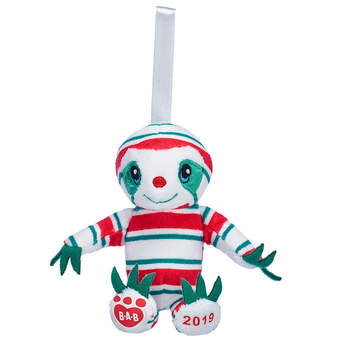 Peppermint Twist Sloth Ornament - Build-A-Bear Workshop®