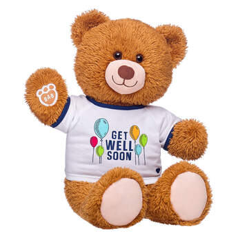 Online Exclusive Happy Brown Bear Get Well Soon Gift Set, , hi-res