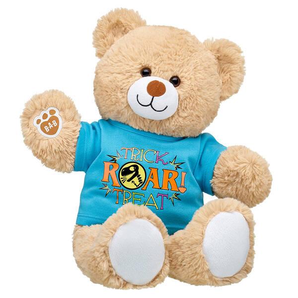 Online Exclusive Cuddly Brown Bear Trick Roar Treat Gift Set, , hi-res