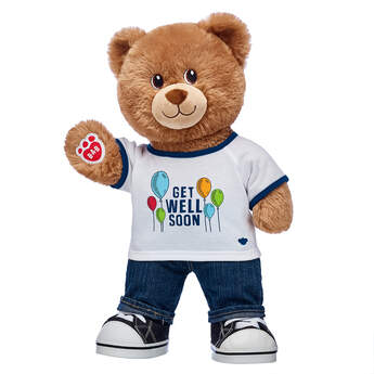 Lil' Cub® Brownie Get Well Soon Gift Set, , hi-res