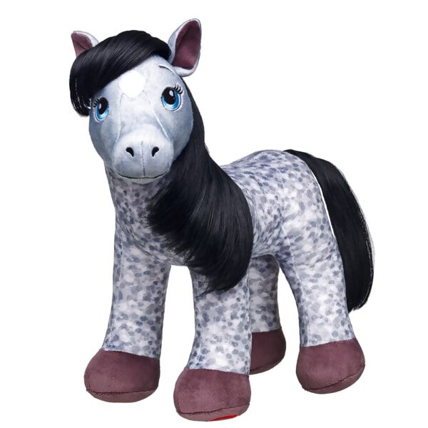 Giddy up! Gray Appaloosa Horses are known for their beauty & grace. Each horse has unique spots and they're great competition horses. Add accessories to make the perfect companion for any horse lover.