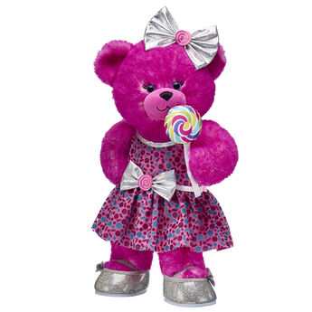 Pink Candy Pop Bear Gift Set, , hi-res