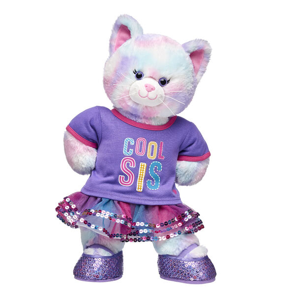 """Cool Sis"" Pastel Swirl Kitty Gift Set, , hi-res"