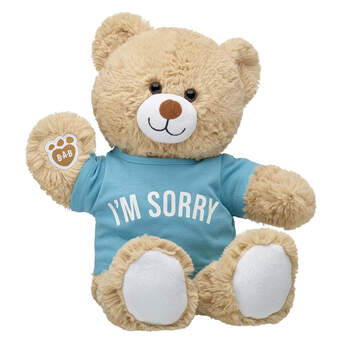Online Exclusive Cuddly Brown Bear I'm Sorry Gift Set, , hi-res