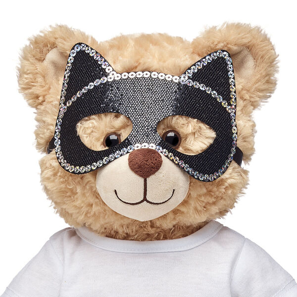 Black Cat Eye Mask, , hi-res