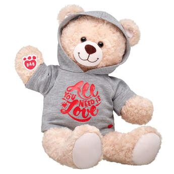 Online Exclusive Happy Hugs Teddy All You Need Is Love Gift Set, , hi-res