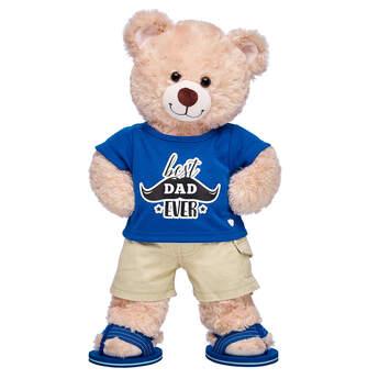 Happy Hugs Teddy Best Dad Ever Gift Set, , hi-res