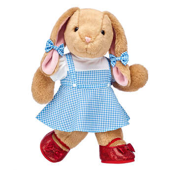 The Wizard of Oz™ Dorothy™ Plush Bunny - Build-A-Bear Workshop®