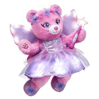 Let your imagination take flight with this magical pair of fairy wings for stuffed animals. Outfit a furry friend online to make the perfect gift. Make your own your own stuffed animal online with our Bear Builder or visit a store near you.