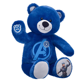 Captain America Bear - Build-A-Bear Workshop®