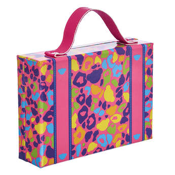 Rainbow Print Suitcase - Build-A-Bear Workshop®
