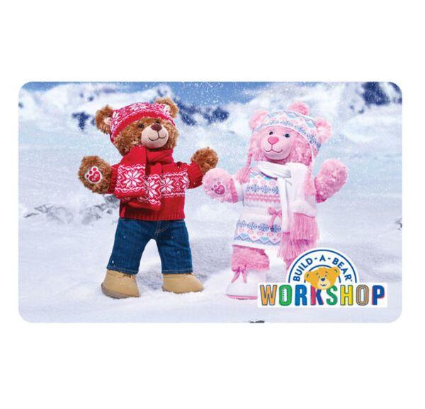 Flurries of Fun Gift Card, , hi-res