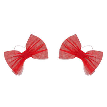 Red Sparkle Bows 2 pc. - Build-A-Bear Workshop®