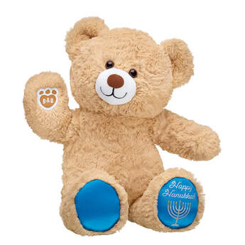 Online Exclusive Happy Hanukkah Bear - Build-A-Bear Workshop®