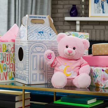 Online Exclusive Pink Baby Bear Moon Gift Set, , hi-res