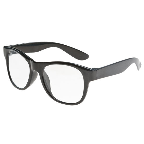 Black Frame Glasses, , hi-res