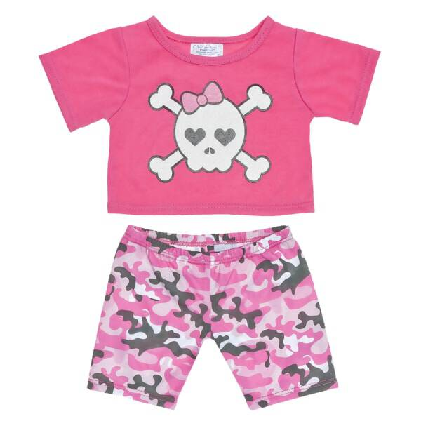 Pink Camo Leggings Outfit 2 pc. - Build-A-Bear Workshop®