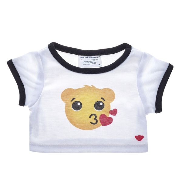 This Bear Kisses T-Shirt is the perfect surprise for someone special! Find stuffed animals, clothing & accessories for any occasion at Build-A-Bear.