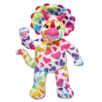 Rainbow Hearts Triceratops - Build-A-Bear Workshop®