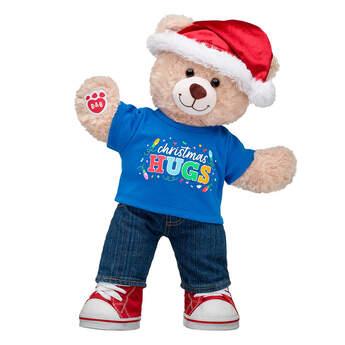 Happy Hugs Teddy Christmas Gift Set, , hi-res