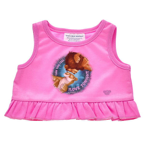 Disney The Lion King Pink Tank Top - Build-A-Bear Workshop®