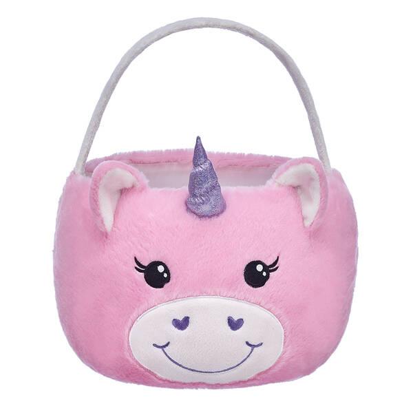 Online Exclusive Pink Unicorn Easter Basket - Build-A-Bear Workshop®