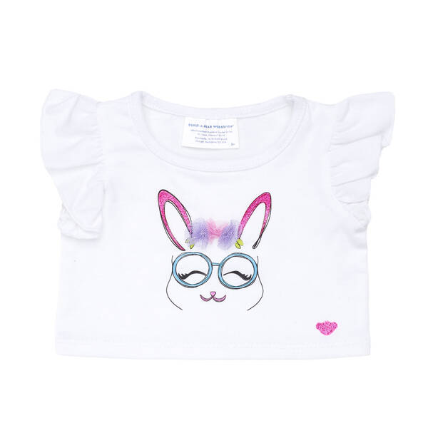 Bunny Glasses T-Shirt - Build-A-Bear Workshop®
