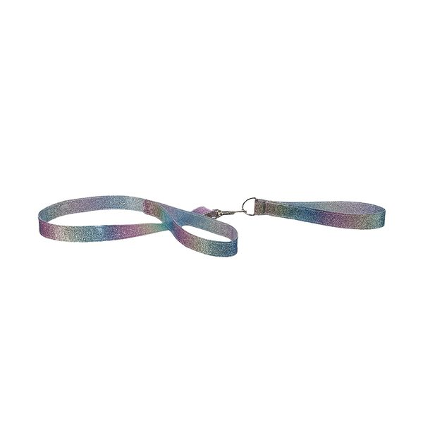 Rainbow Sparkle Leash & Collar 2 pc., , hi-res