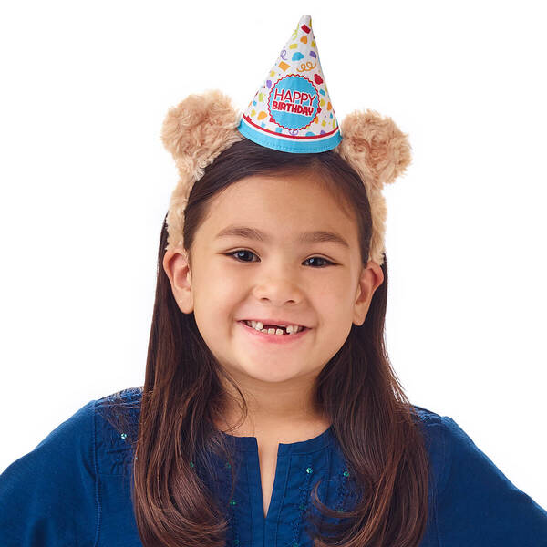 Birthday Bear Ears Headband for Kids - Build-A-Bear Workshop®