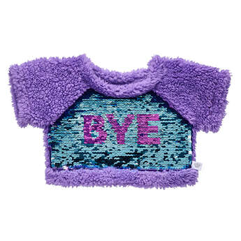 Purple Flip Sequin Sweatshirt - Build-A-Bear Workshop®