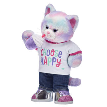 Online Exclusive Pastel Swirl Kitty Choose Happy Gift Set, , hi-res
