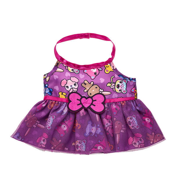 Kabu™ Purple Dress - Build-A-Bear Workshop®