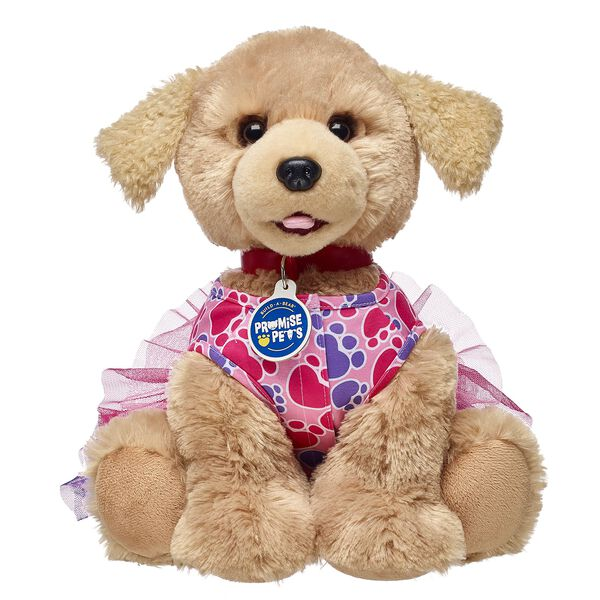 Promise Pets™ Pink Paw Print Dress, , hi-res
