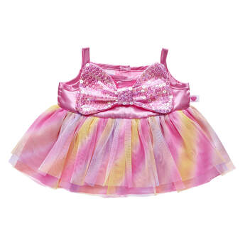 Pink Bow Easter Dress - Build-A-Bear Workshop®