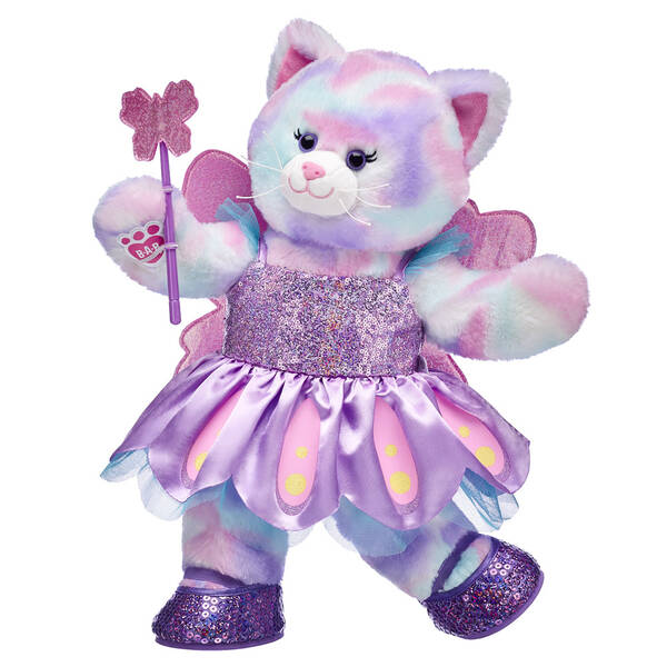 Pastel Swirl Kitty Butterfly Fairy Sequin Gift Set, , hi-res